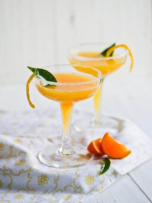Double Tangerine Cocktail