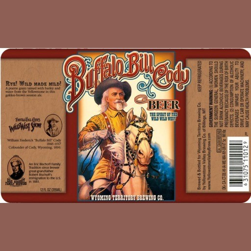 Buffalo Bill Cody Beer