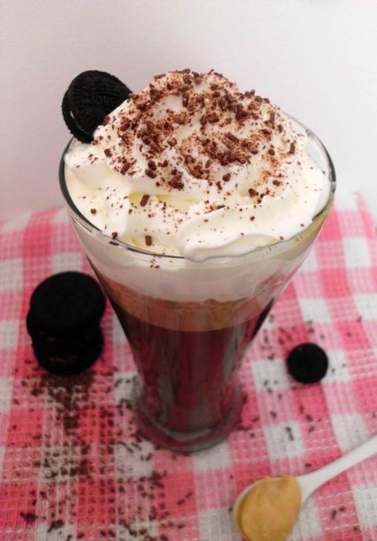 Caramel Oreo Hot Chocolate