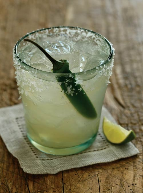 Chili Spiked Margarita