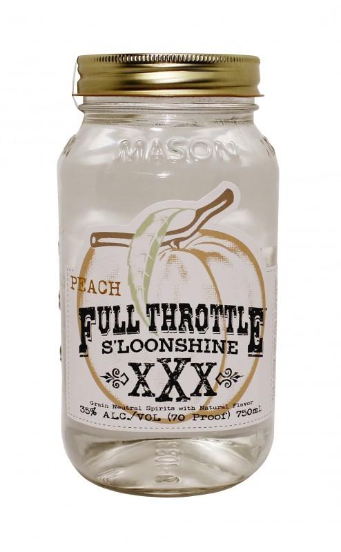 Full Throttle S'loonshine - Peach Flavor
