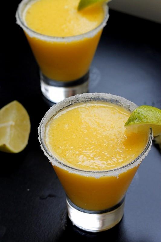 Frozen Pineapple Mango Margarita