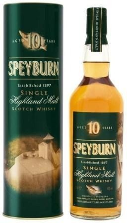 Speyburn 10 Year Old Single Malt Scotch Whisky