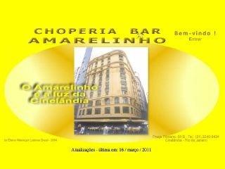 Choperia Bar Amarelinho da Cinelândia