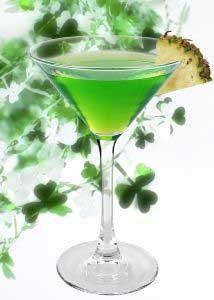 Emerald Vodka Martini