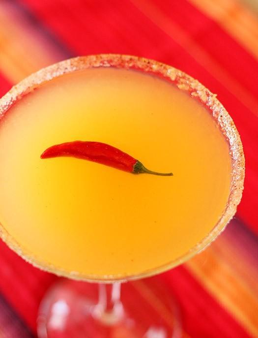 Red Chile Martini
