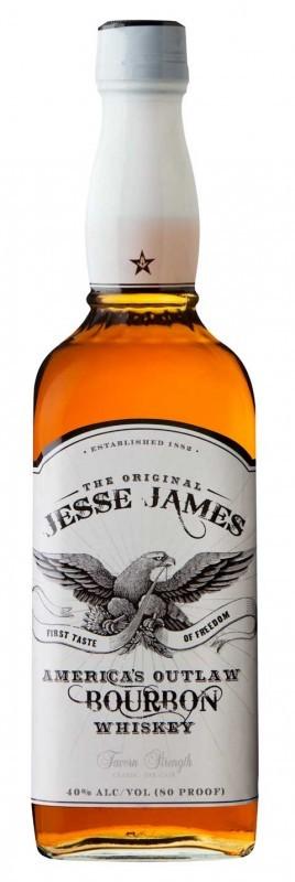 Jesse James Bourbon Whiskey