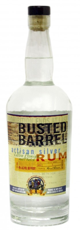 Busted Barrel Silver Rum
