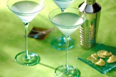 St. Patrick Ginger-Pear Martini