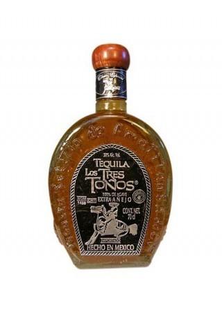 Los Tres Tonos Tequila Extra Anejo