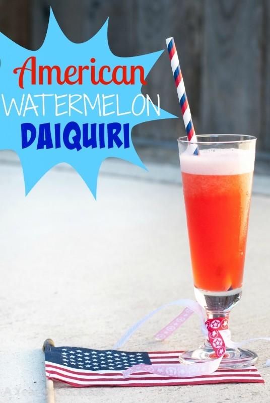 American Watermelon Daiquiri