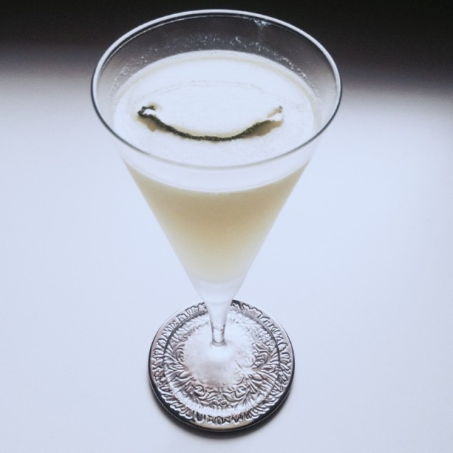 Banana Sidecar Cocktail