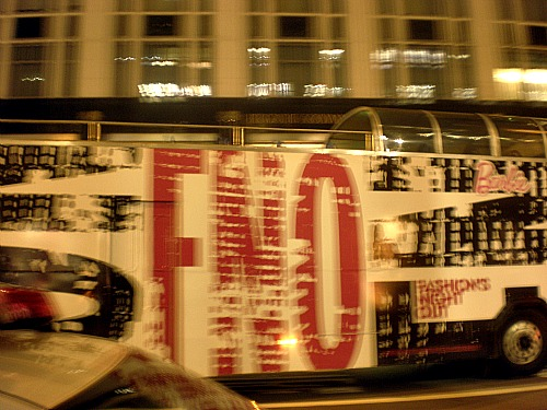 Fashion's Night Out bus