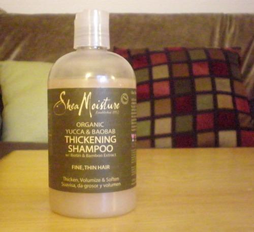 Shea Moisture Hair Thickening Shampoo