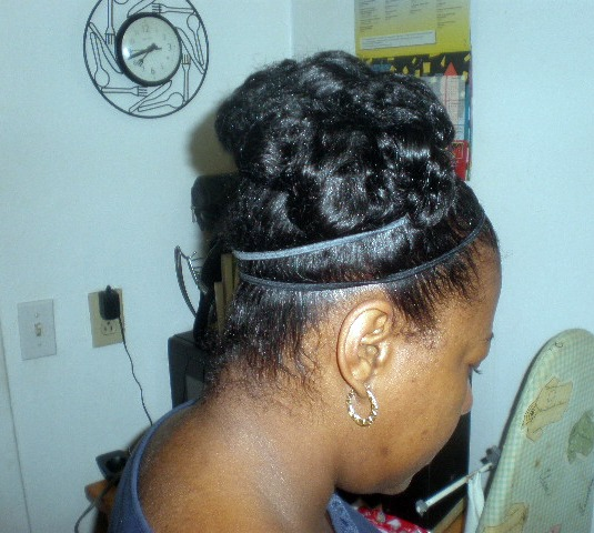 Pin Curls Black Hairstyles Images & Pictures - Becuo