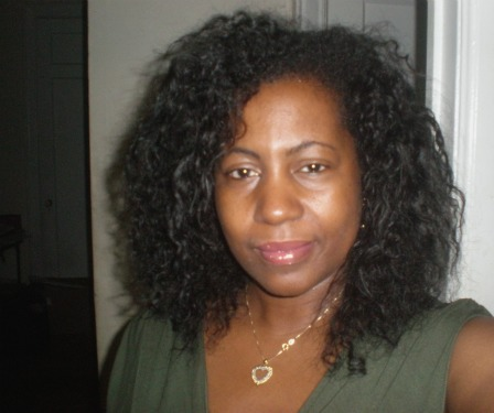 Front of Satin Braid Out