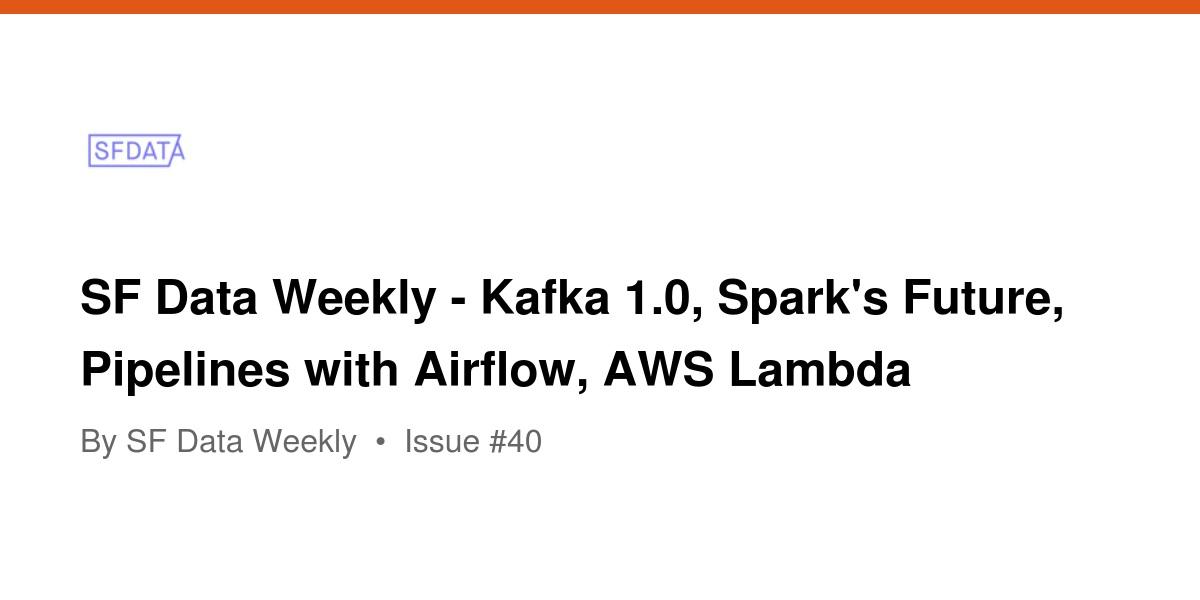 Top Five Apache Airflow - Circus