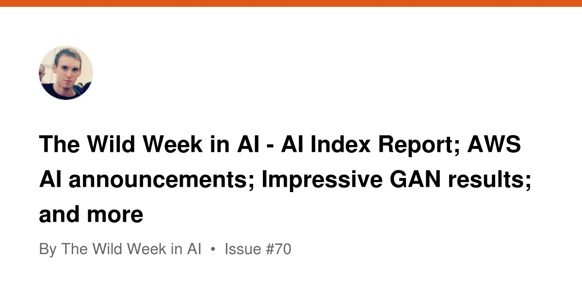 The Wild Week in AI - AI Index Report