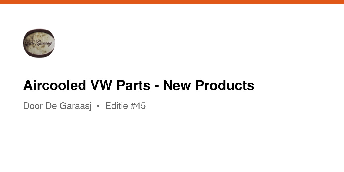 aircooled vw parts