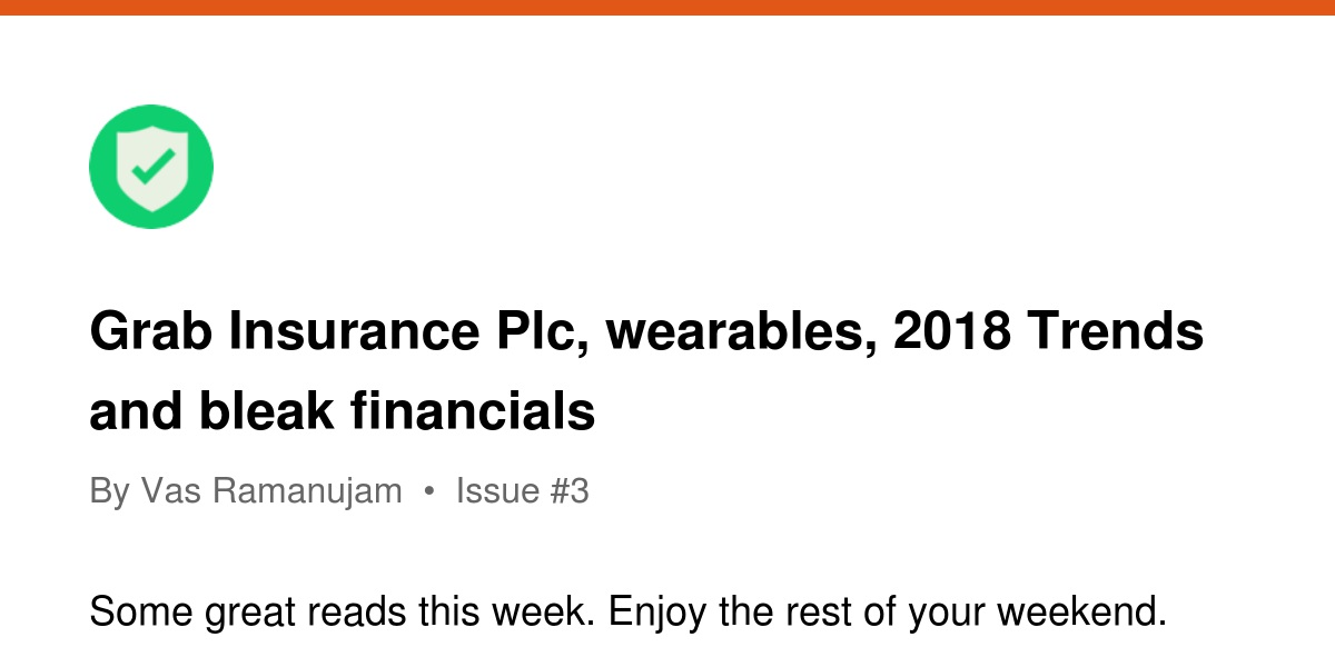 Grab Insurance Plc Wearables 2018 Trends And Bleak Financials Revue
