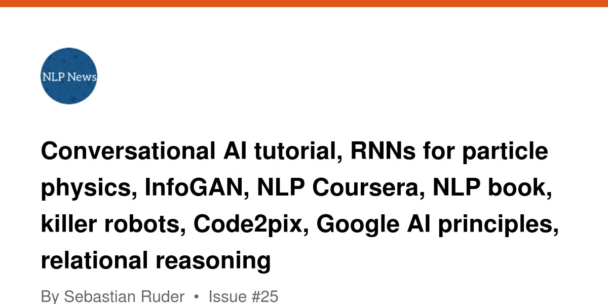 Conversational AI tutorial, RNNs for particle physics