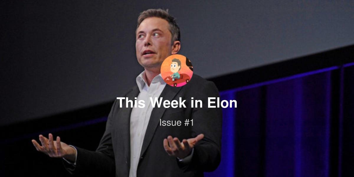 This Week in Elon - Welcome! | Revue