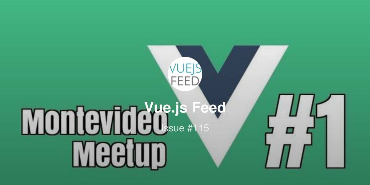 Vue js Feed - Issue #115 - Interactive NativeScript-Vue