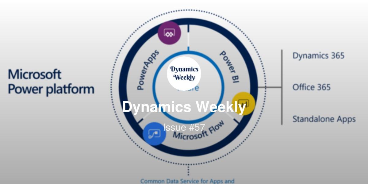 Dynamics Weekly #57   Revue
