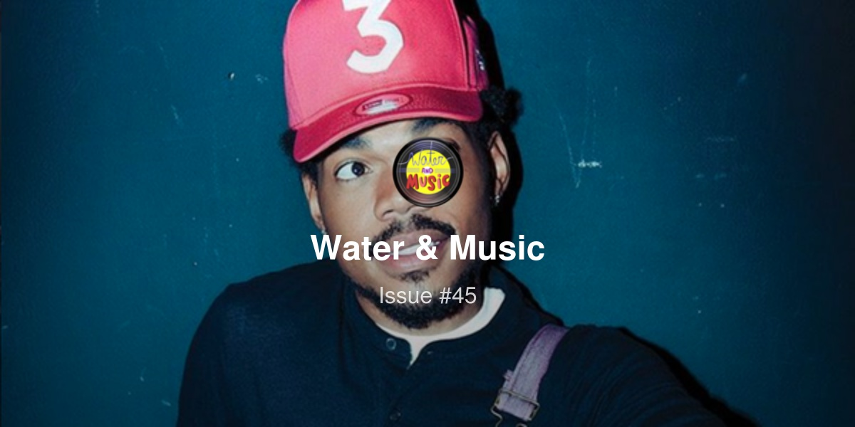 Every podcaster is the next Chance the Rapper  (+ Support