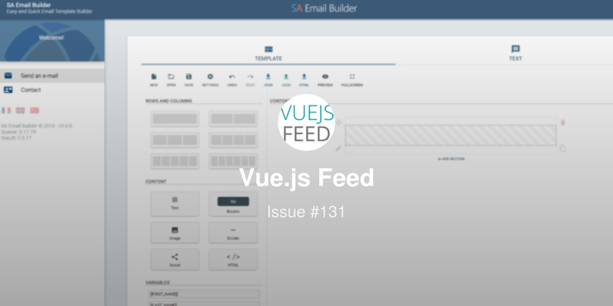 Vue js Feed - Issue #131: Learn About Vue Vixens Workshops - Vue App