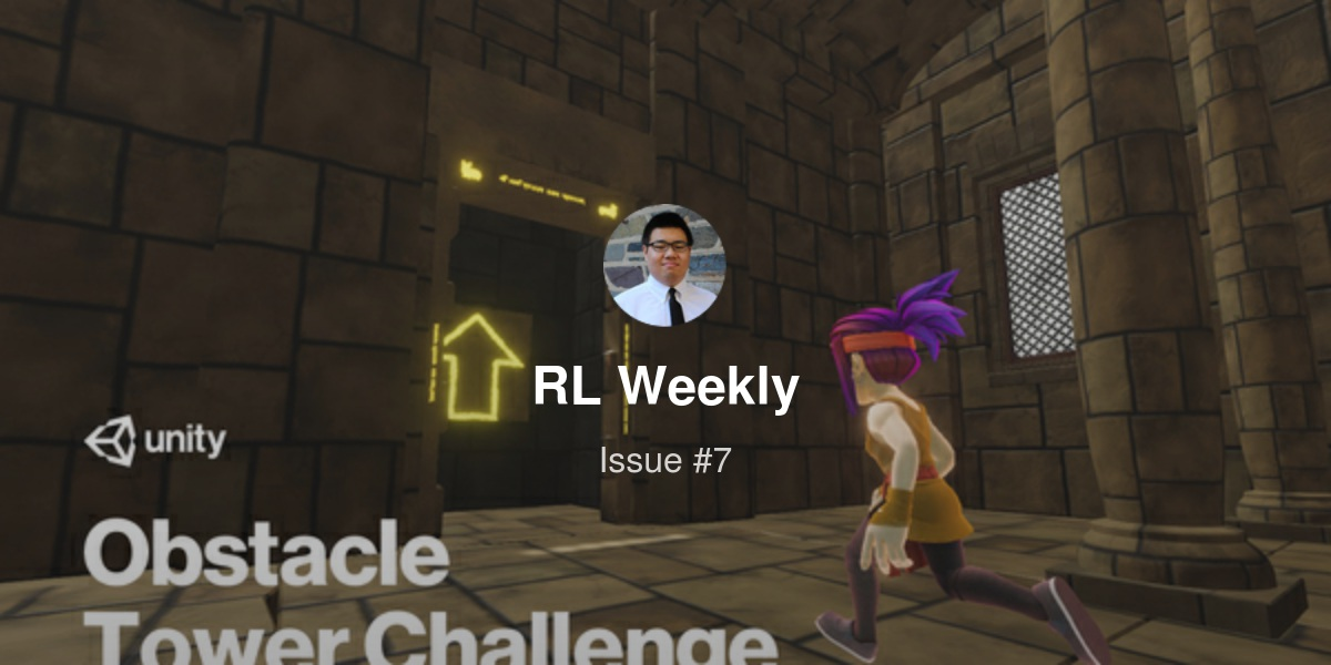 RL Weekly 7: Obstacle Tower Challenge, Hanabi Learning