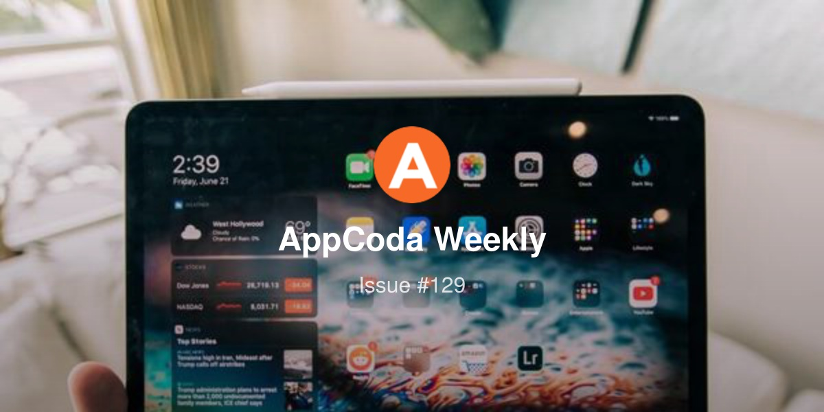 AppCoda Weekly - Issue #129 | Revue