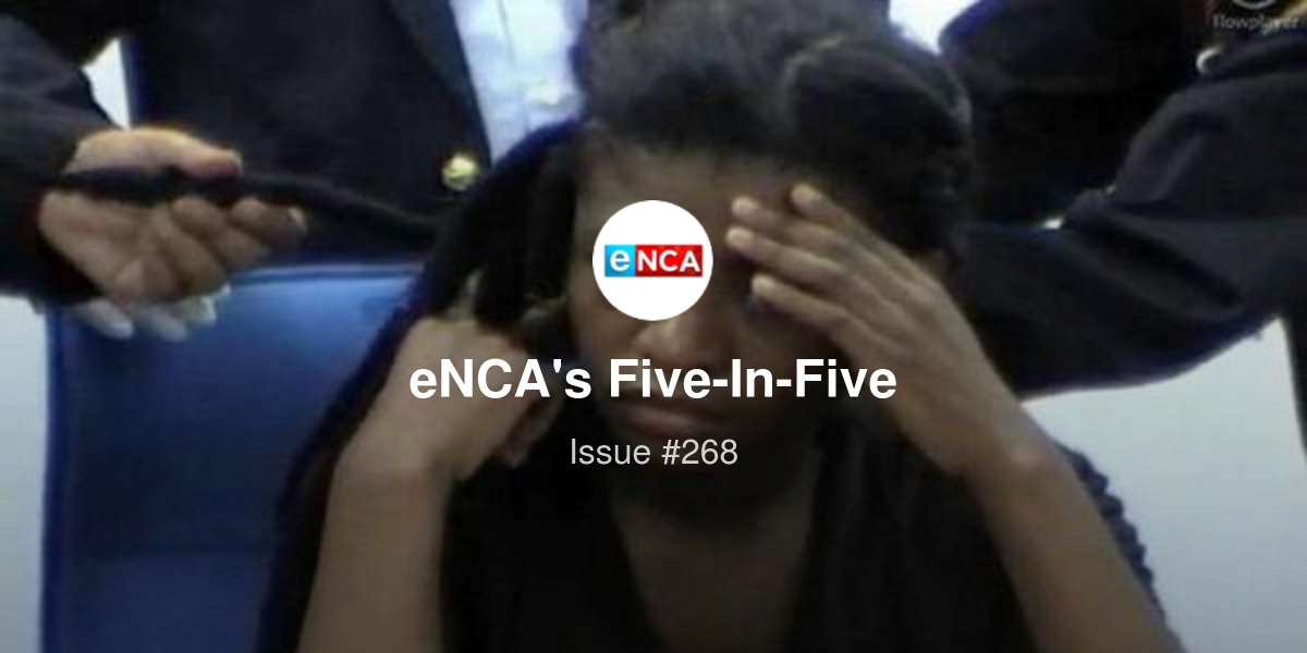 eNCA's Five-In-Five - SA drug mule returns home, end of the road for Ndlovu Youth Choir, and more ...