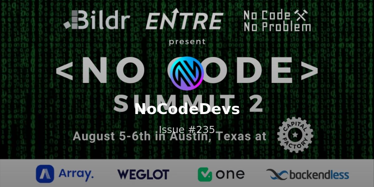 No Code Summit | Canonic.dev | Studio 📛