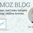 Content, Shares, and Links: Insights from Analyzing 1 Million Articles