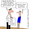 The Choice between Customer Service and Technology | Shep Hyken