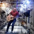 It's surprisingly difficult to play guitar in space