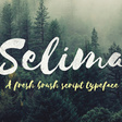 Selima Free Typeface | GraphicBurger