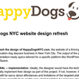 Happy Dogs NYC website refresh project - Google Docs
