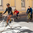 Why my cycling clothing company uses models without helmets