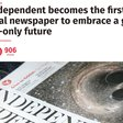 The end of the printed Independent: the shock we all knew was coming
