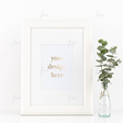 Styled Stock White Frame Mockup ~ Product Mockups on Creative Market