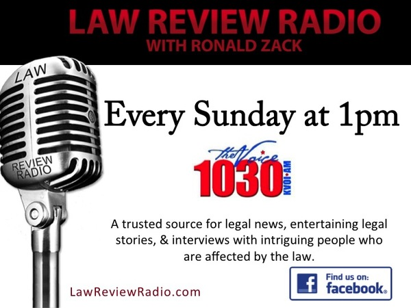 Law Review Radio - Issue #13 | Revue