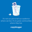 Why Copyblogger Is Killing Its Facebook Page - Copyblogger