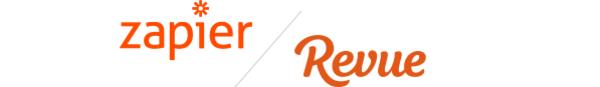 Zapier <3 Revue. Not only because we both love orange.