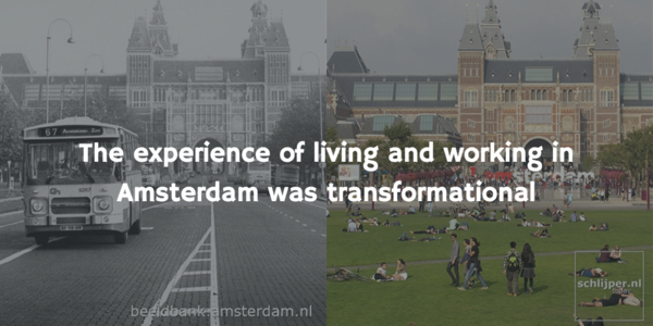 its easy to forget Amsterdam wasn't always the City of Bikes