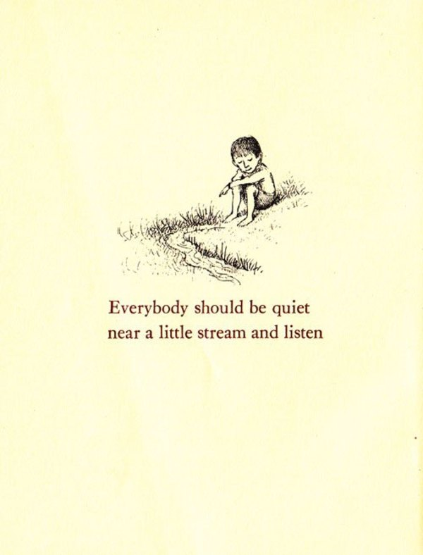 Illustration by Maurice Sendak from Open House for Butterflies by Ruth Krauss