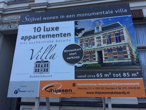 10 appartementen in Wormerveer (klik op foto voor link).