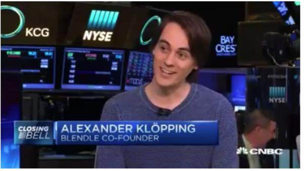 Alexander op de Amerikaanse beurstv