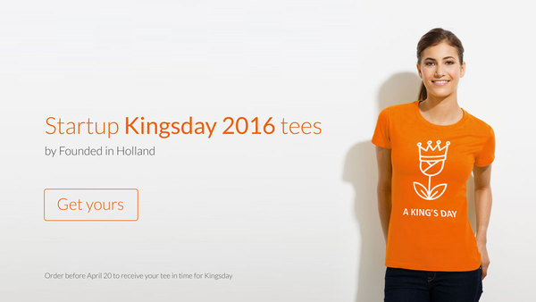 Kingsday 2016 is coming and it's gonna be a King's day in this royal tee!